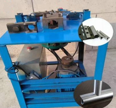 Электро-механический станок для вырубки седловин